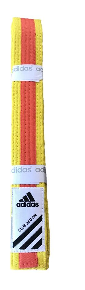 Adidas Belt Club bicolor Yellow/Orange size 260