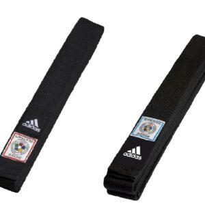 Judoband Adidas IJF Elite | zwart