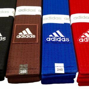 Judoband Adidas Elite | blauw of rood