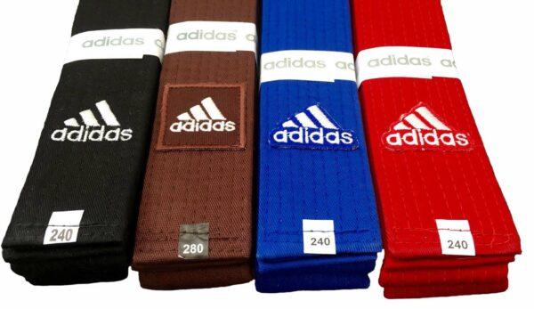 Judoband Adidas Elite | rood | maat 240