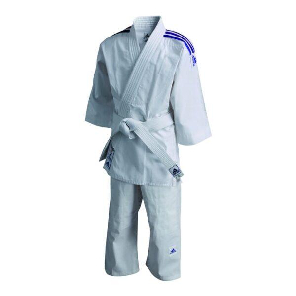 Judopak Adidas voor kinderen | meegroeipak J200 | wit