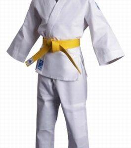 Judopak Adidas voor kinderen | meegroeipak J250 | wit