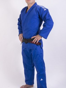 Judopak Adidas Champion II | IJF-goedgekeurd | blauw