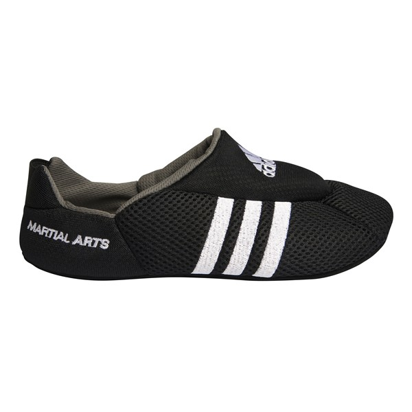 Martial arts Adidas-sloffen   zwart-wit