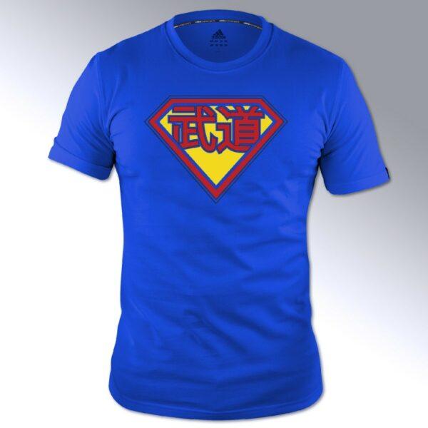 Adidas budo-Superman T-shirt | blauw