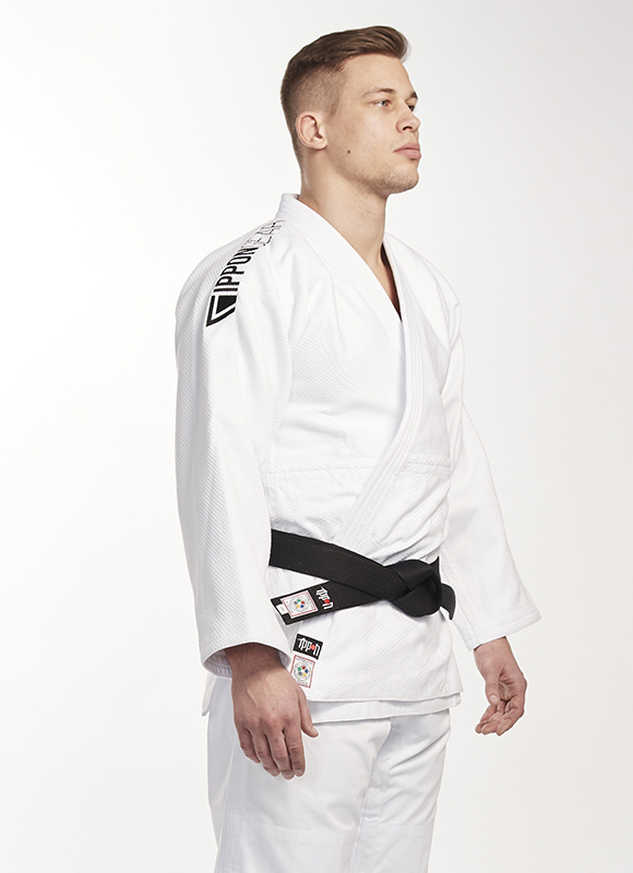 Ippon Gear Legend regular IJF gekeurde Witte judojas
