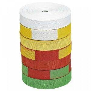 Judoband op rol Nihon | 50 meter | diverse kleuren