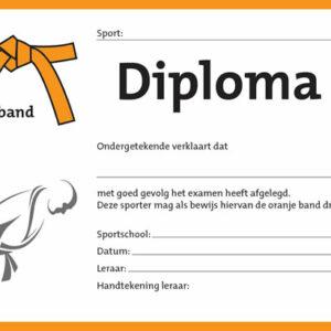 Diploma Oranje