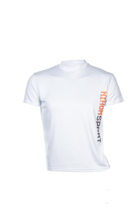 Sneldrogend trainingsshirt/ondershirt voor mannen Nihon |wit