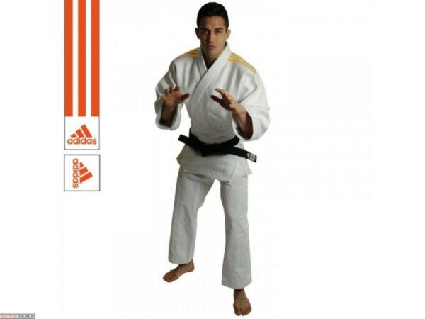 Judopak Adidas wedstrijden en trainingen | J690 | wit-oranje