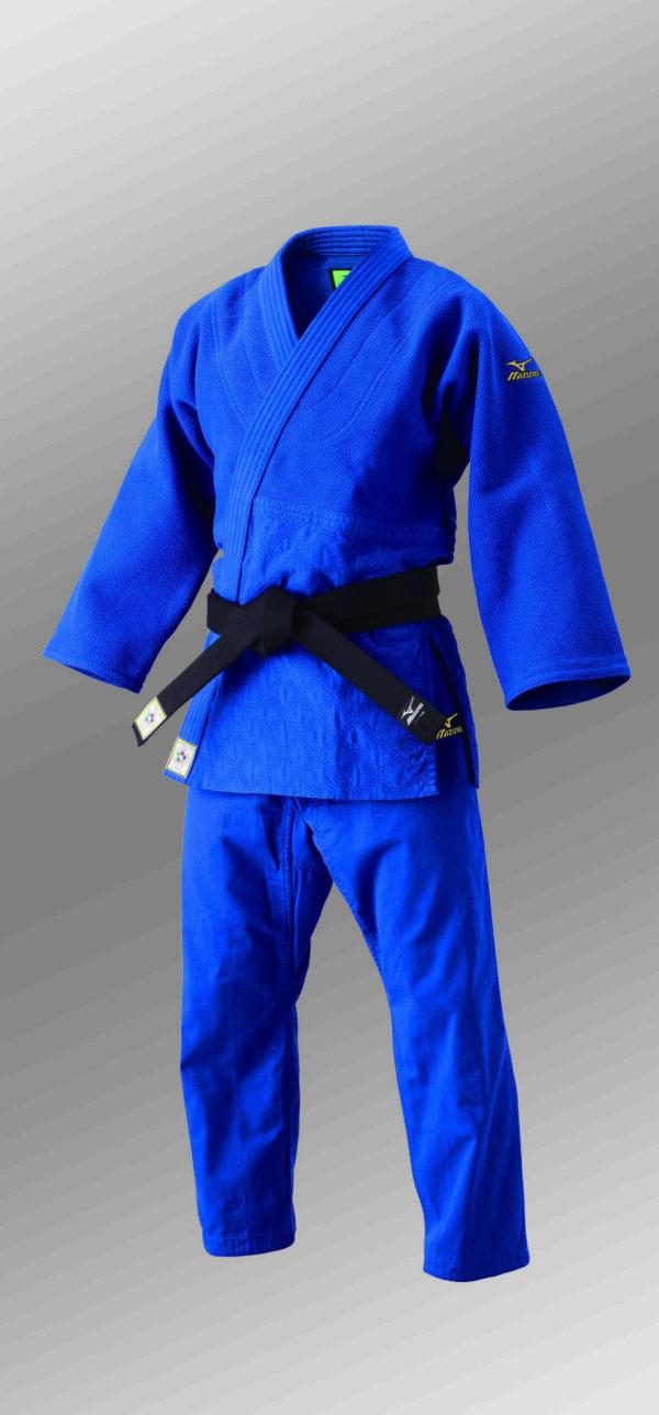 Mizuno Yusho IJF judopak blauw